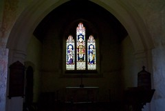 The Church of St Thomas À Becket, Capel, Medway valley, Kent