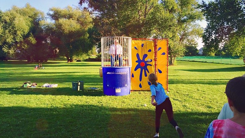 201/365. oh nothing, just the organic valley cfo in a dunk tank.