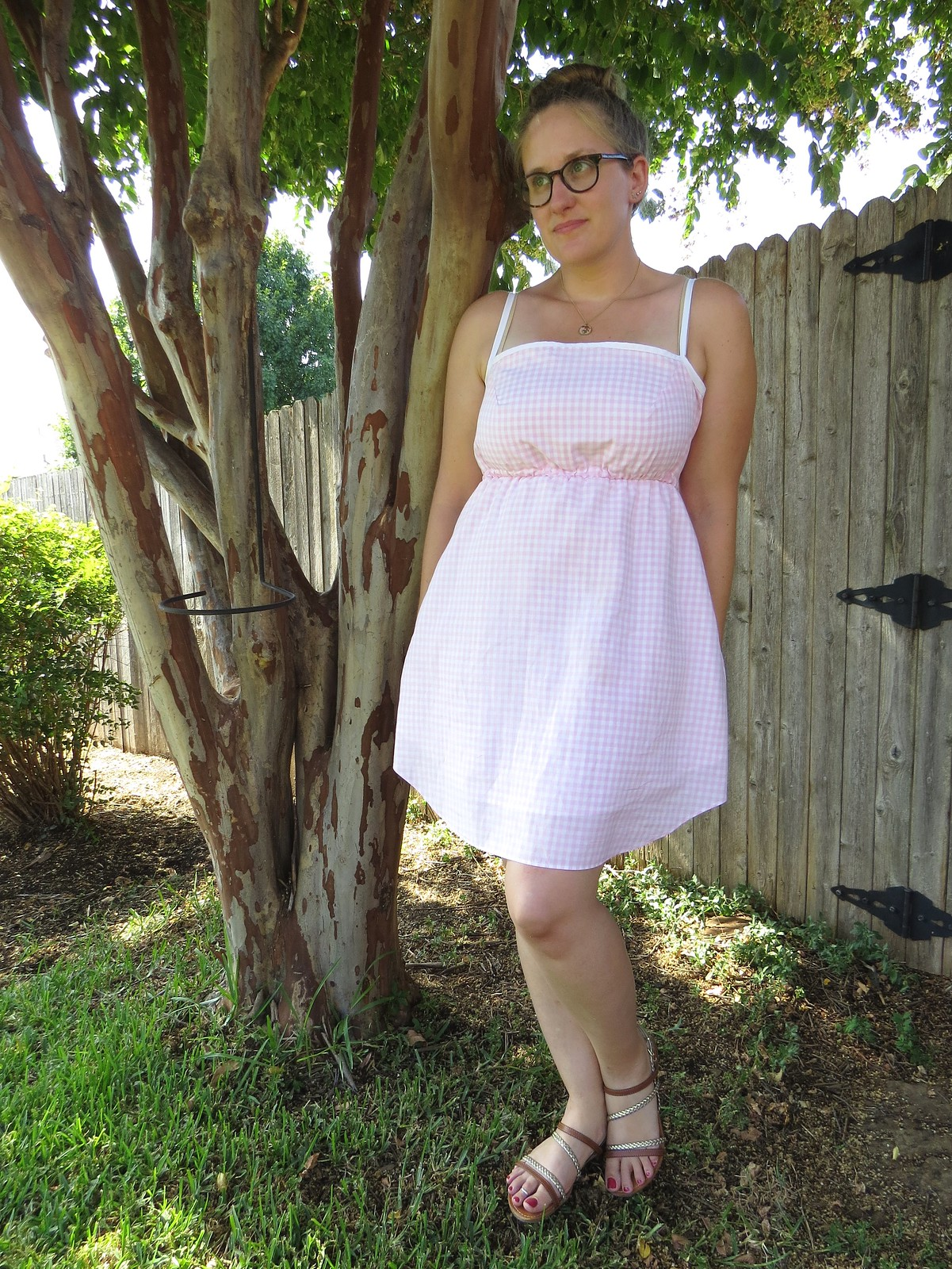 Gingham Sundress - After