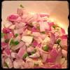 #Homemade #PastaAllaMariona #Zucchini #CucinaDelloZio - sauté onions garlic & hot pepper