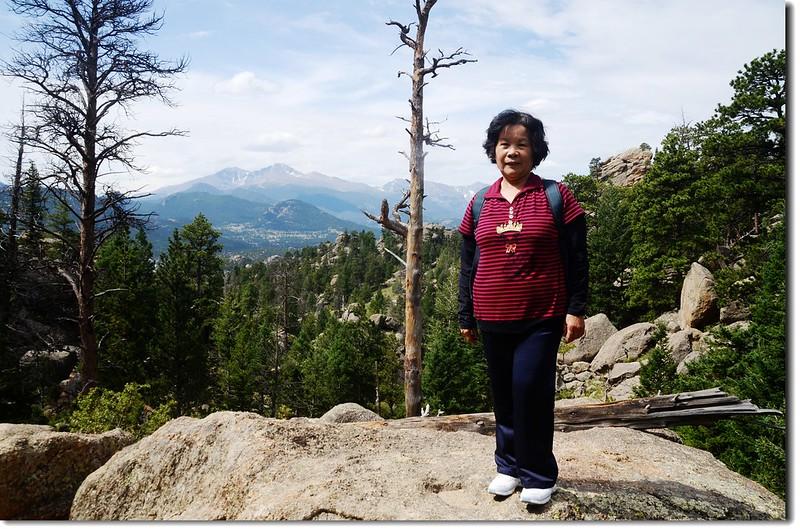 Taken from Lumpy Ridge Trail viewpoint 1