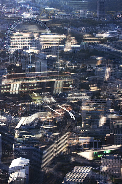 Abstract view of London