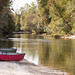 Located along the Perdido River in Baldwin County, Alabama, the Perdido Canoe Trail has land-based camping cabins.   Reservations are required for the cabins, but beach camping is free of charge.  Make reservations or get  more information at www.alabamacanoetrails.com.