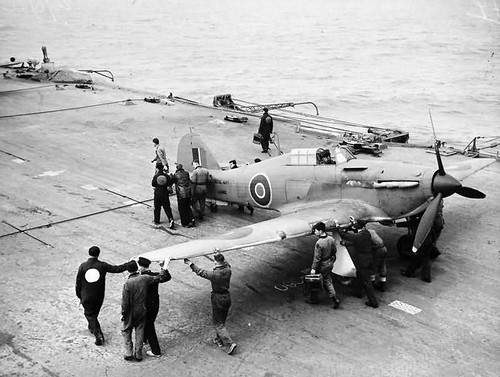 Sea Hurricanes  On HMS Victorious 25-27 June 1942