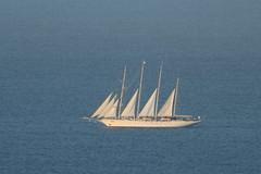 Sailboat off Magens Bay