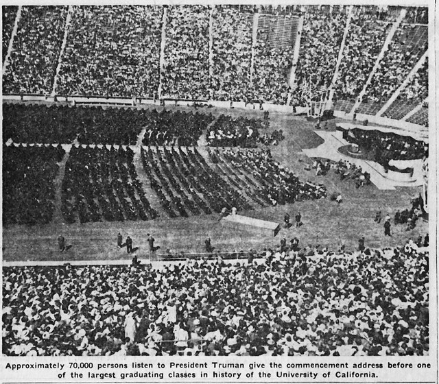 harry truman UC commencement 1948