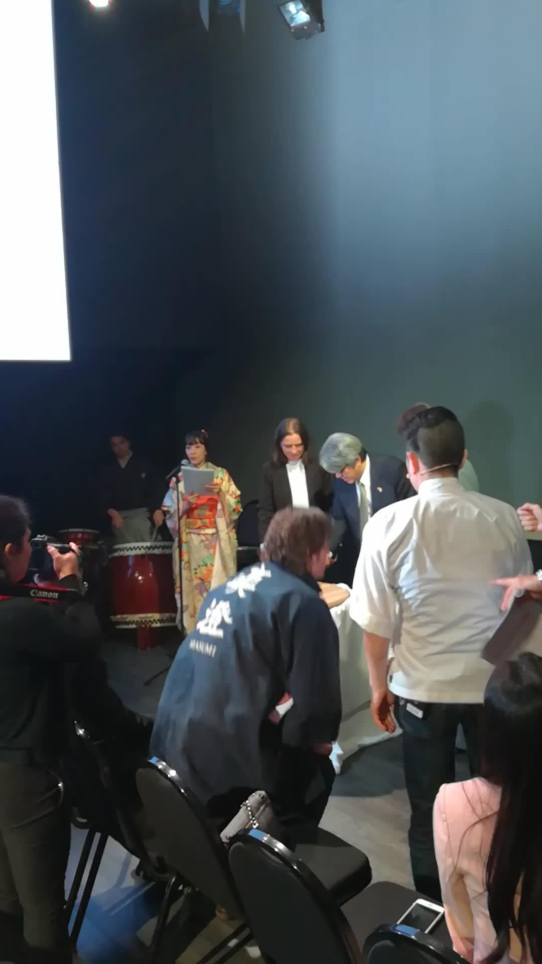 Showcoocking en Taste of Japan