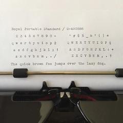 Royal Portable Standard