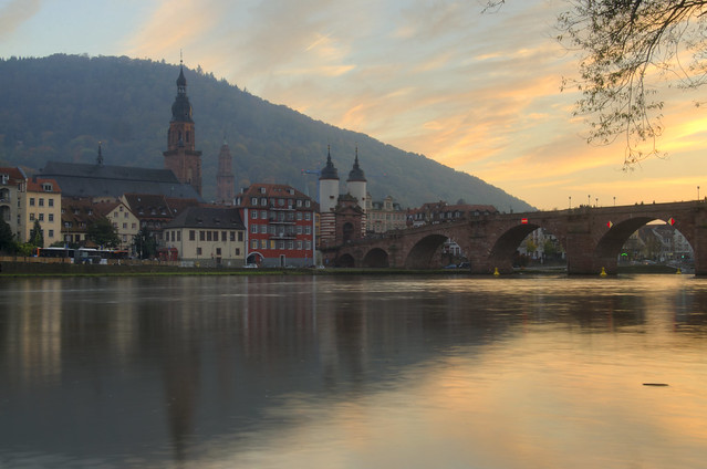 The Old town of Heidelberg