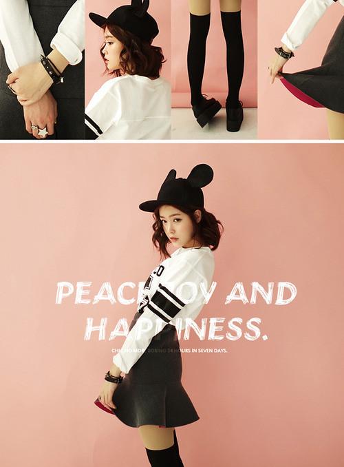 Nhắng nhít style mũ Mickey