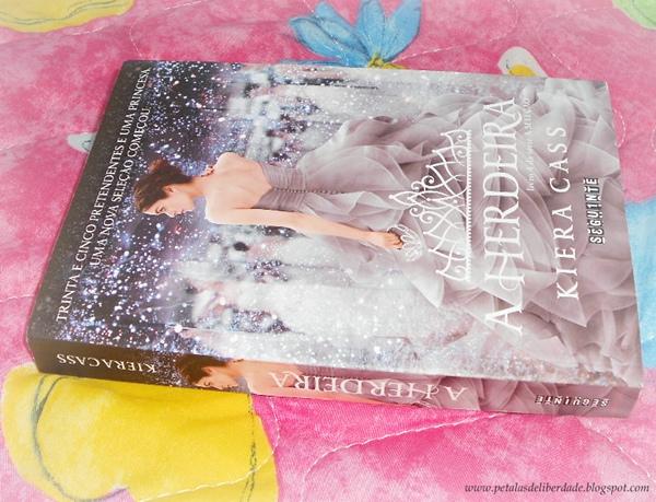 Resenha, quote, trecho, livro, A Herdeira, Kiera Cass, A Seleção, Editora Seguinte, capa. comprar