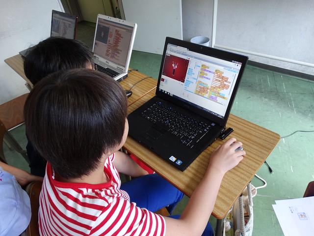 ファミリオ夏期プログラミング小学クラス 改造