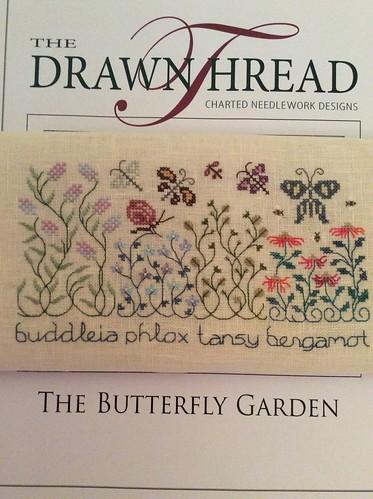 Butterfly Garden WIP 1