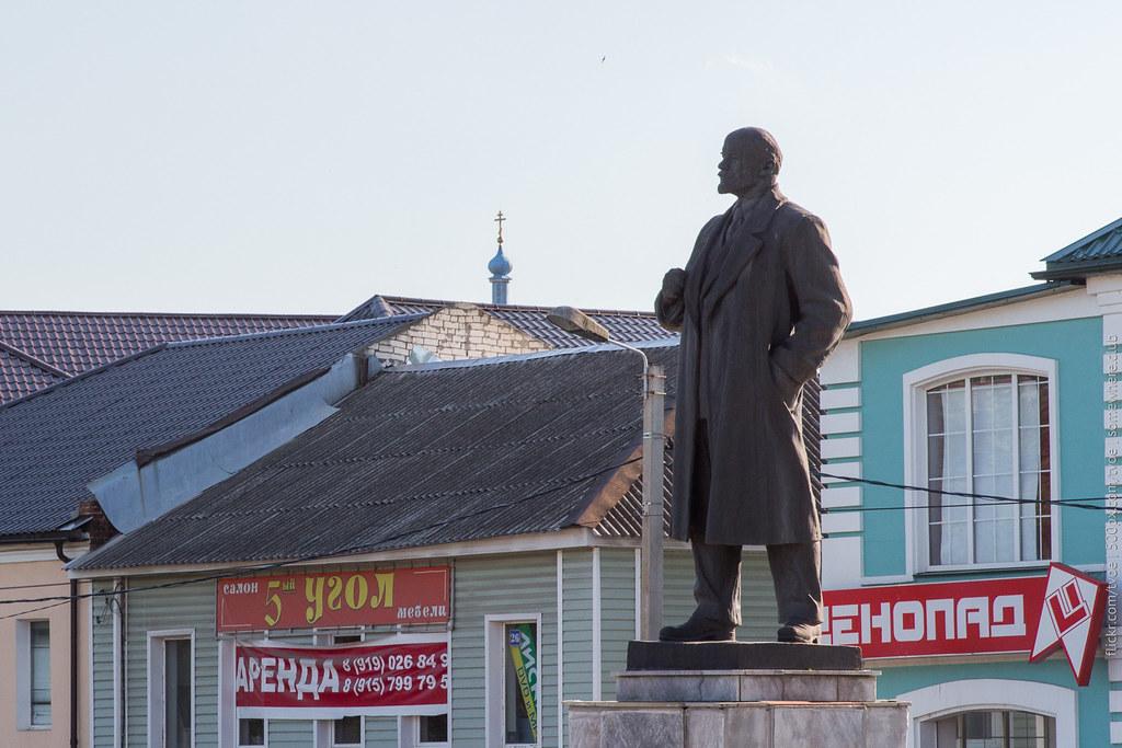 Памятник Ленину в Юрьеве-Польском
