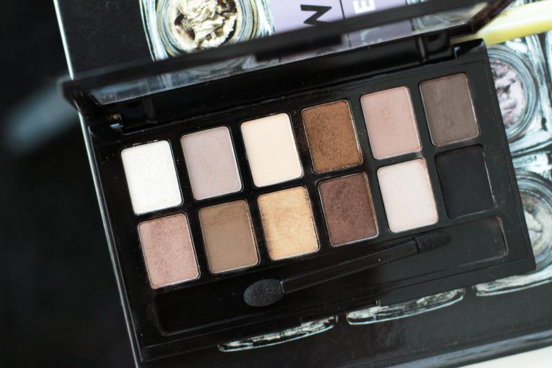CloseUp Maybelline The Nudes Palette