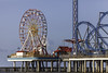 Amusement Park On Galveston Pleasure Peir by Mabry Campbell