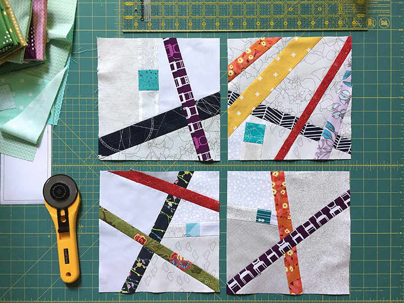 Sticks and Stones Quilt Block for do Good Stitches