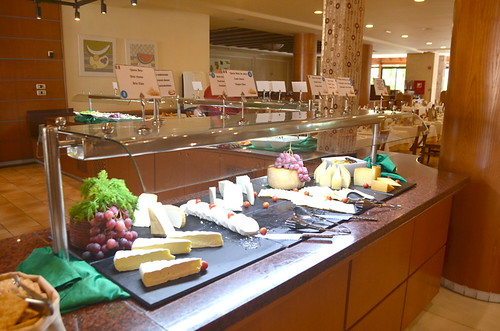 Cheese selection at Costa Adeje Gran Hotel