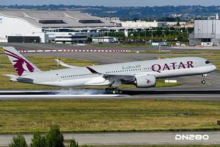 Qatar A350-941 msn 008