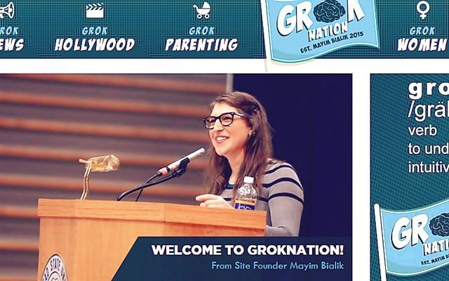 Mayim Bialik - GrokNation