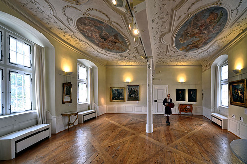 Das barocke Götterzimmer im Deutschordensmuseum.