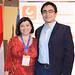 Carla Tapia, de Golder Associates y Felipe Munizaga, de Minera Los Pelambres