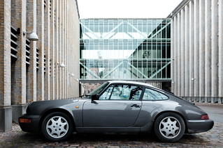Porsche 964 Carrera + Fujifilm Classic Chrome (Copenhagen, Denmark)