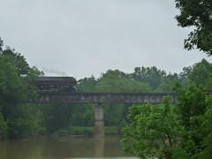 The J611 crossing the Rapidan River