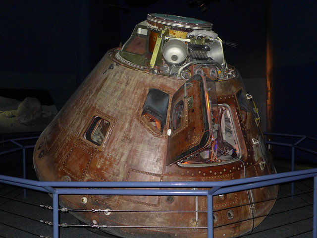 Apollo 17 command module