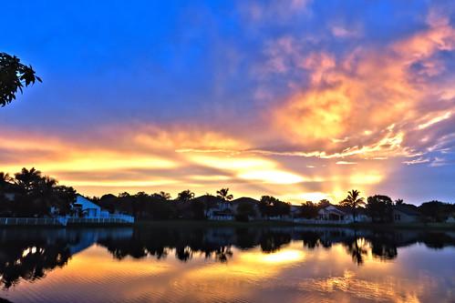 Golden Sunrise HDR 20150611