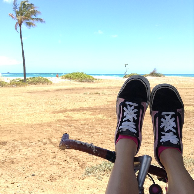 bikeventure to sand island