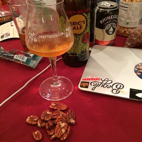 Beer. Pecans. Computer. Joy.