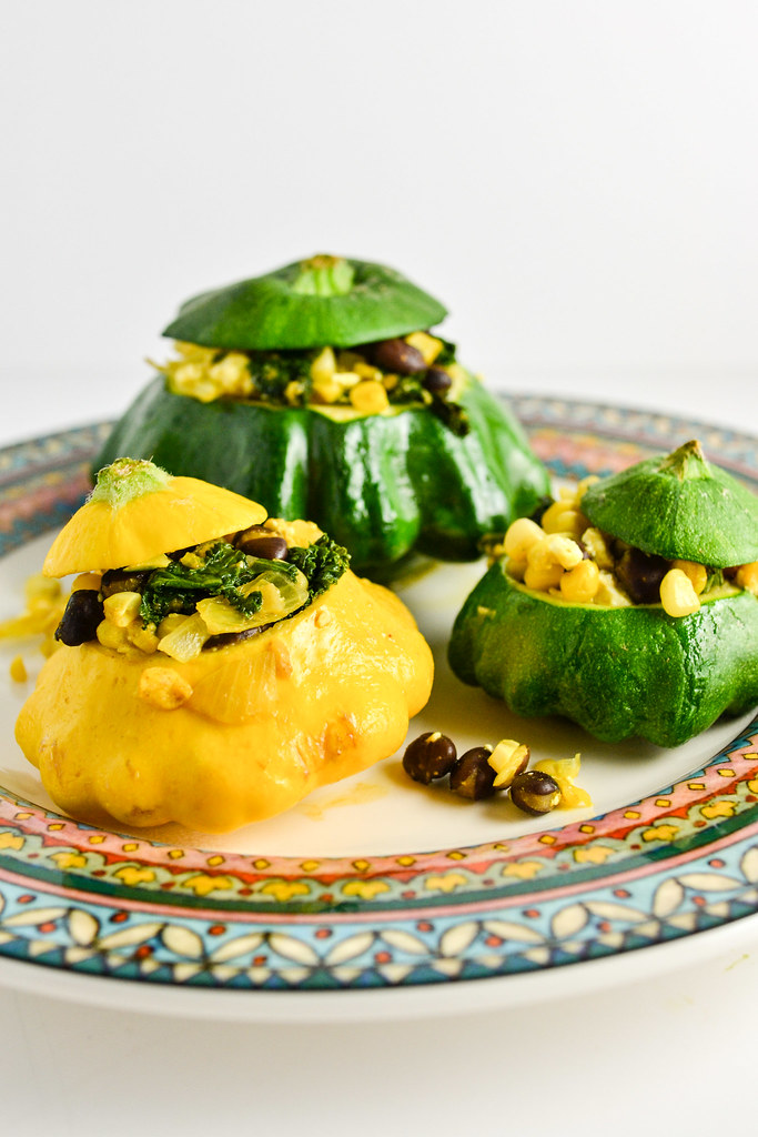 Stuffed Patty Pan Squash | Things I Made Today