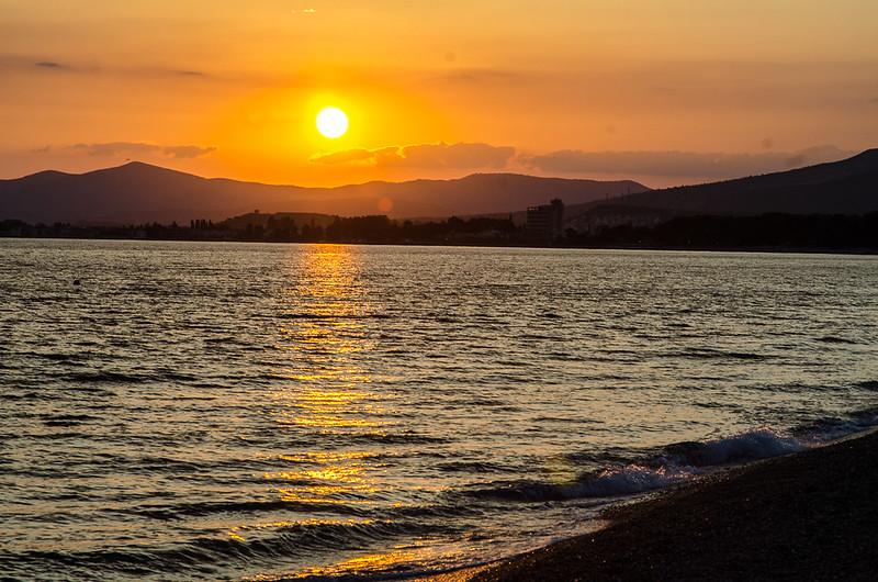 19 June - More sunset.