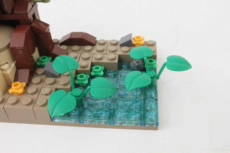 Review - LEGO Star Wars SDCC 2015 Dagobah Mini-Build από Brick Fan 19949823682_caa8f1ac14_c