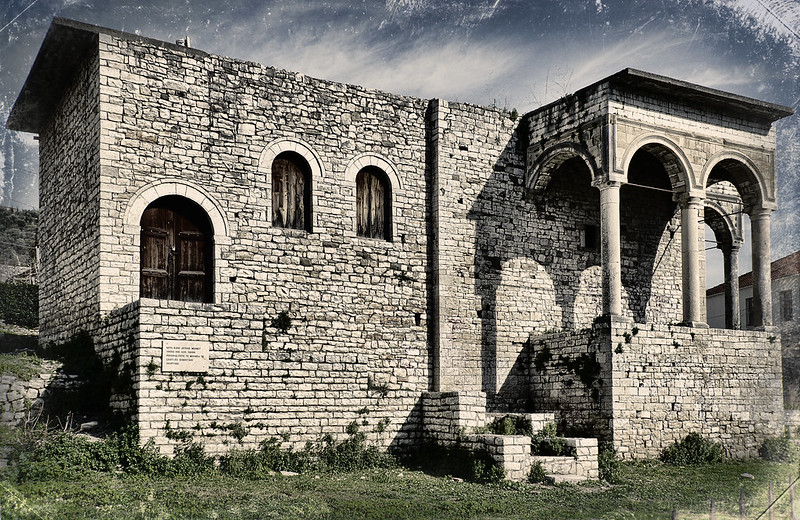 The former palace of the Pasha