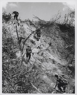 Marines Assault North Vietnamese Positions, 1966