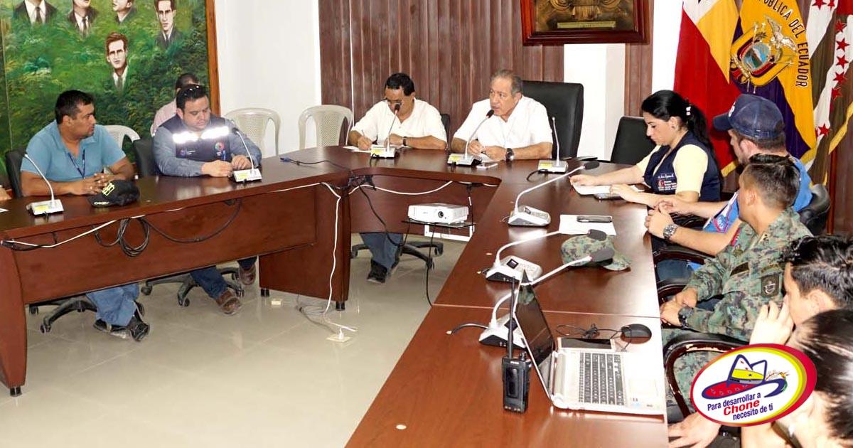 COE toma acciones para el proceso electoral en Chone