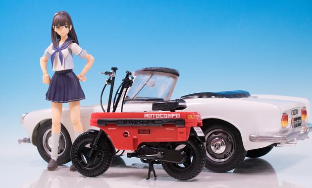 レビュー アオシマ 1/12スケール Honda モトコンポ
