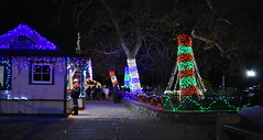 The Griffith Park & Southern Railroad Holiday Light Festival Train Ride