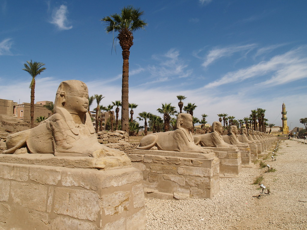 East Bank Map Luxor Mapcarta