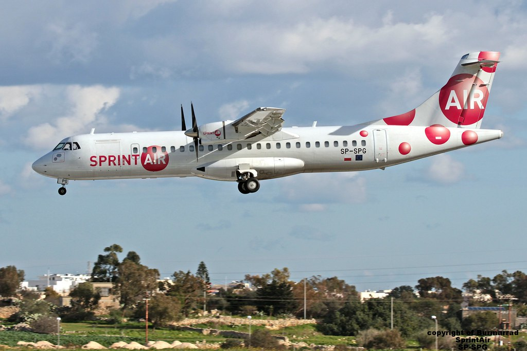 SP-SPG - AT72 - Sprint Air