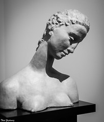 Inclined Head of Kneeling Woman