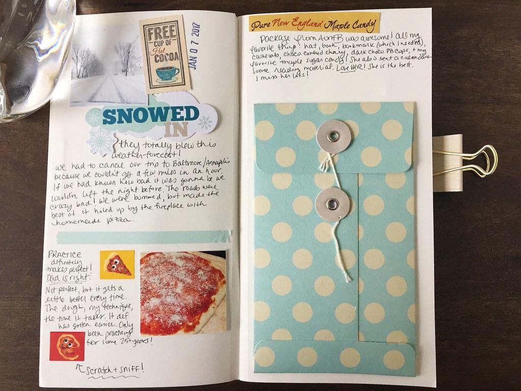 2017 traveler's notebook thepapergoddess.com