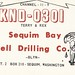 Sequim Bay Well Drilling Co. - Sequim, Washington by 73sand88s by Cardboard America
