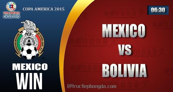 Mexico, Bolivia, Thông tin lực lượng, Thống kê, Dự đoán, Đối đầu, Phong độ, Đội hình dự kiến, Tỉ lệ cá cược, Dự đoán tỉ số, Nhận định trận đấu, Copa America, Copa America 2015, Bảng A Copa America 2015, Vô địch Nam Mỹ, Vô địch Nam Mỹ 2015, Bảng A Vô địch Nam Mỹ 2015