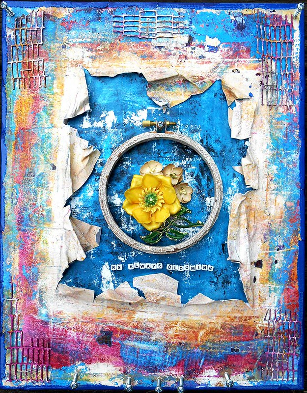 Mixed Media - Be Always Blooming