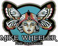 Mike Wheeler Tattoo home page icon