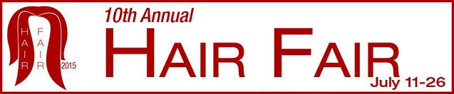 Hair Fair 2015 Banner