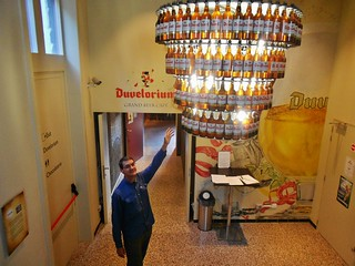 Dennis Reaching for a Duvel